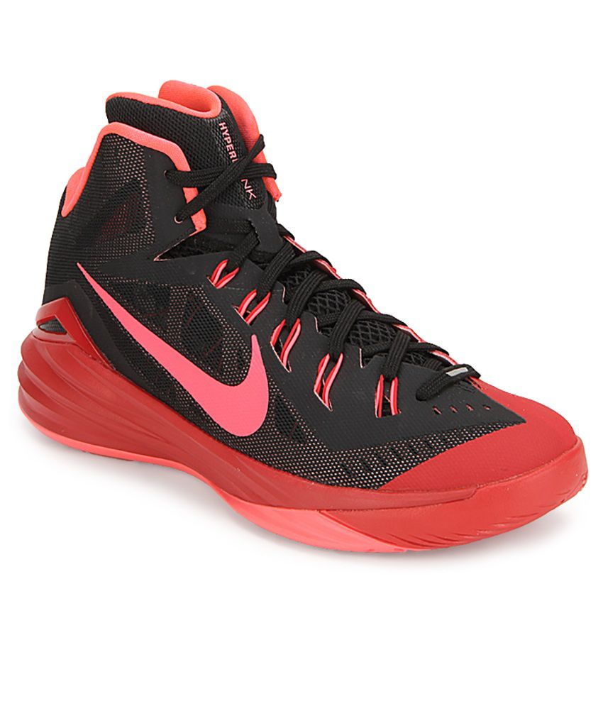 nike hyperdunk 2014 black sport shoes buy nike hyperdunk 2014 - nike hyperdunk 2014 black red