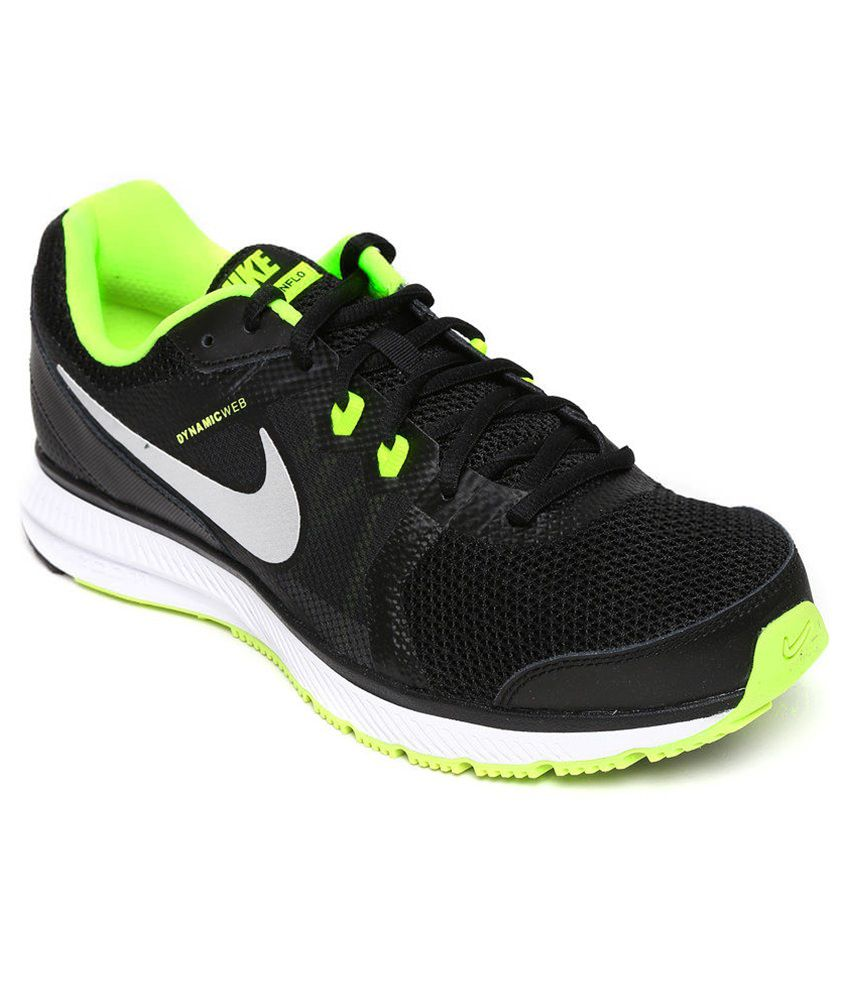 b58b823e0ba51 Nike Zoom Winflo Black Sport Shoes - Buy Nike Zoom Winflo Black Sport Shoes  Online at Best Prices in India on Snapdeal