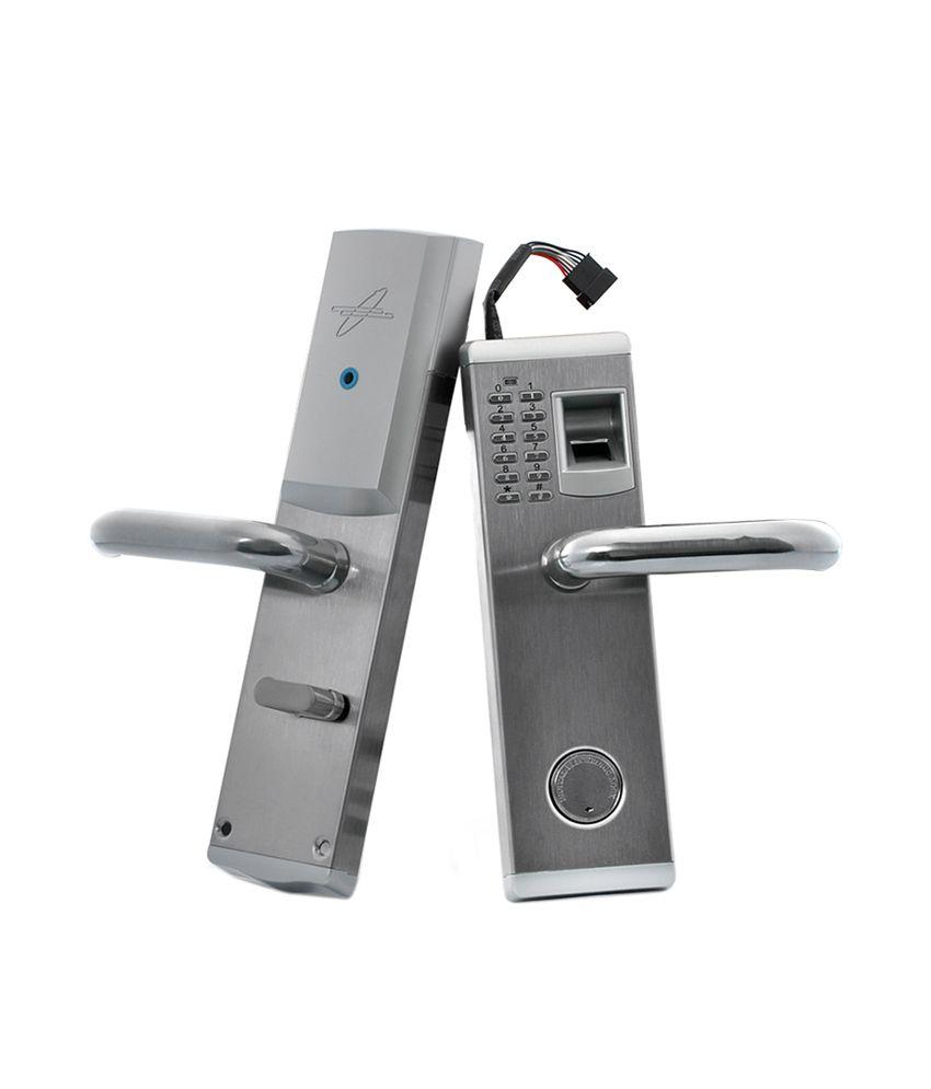 Buy biometric fingerprint door lock online at low price in Biometric door lock