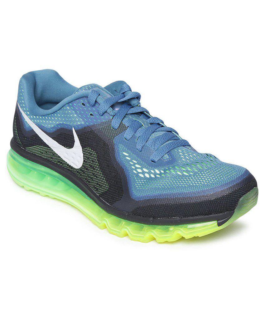 nike air max 2014 blue sport shoes buy nike air max 2014. Black Bedroom Furniture Sets. Home Design Ideas