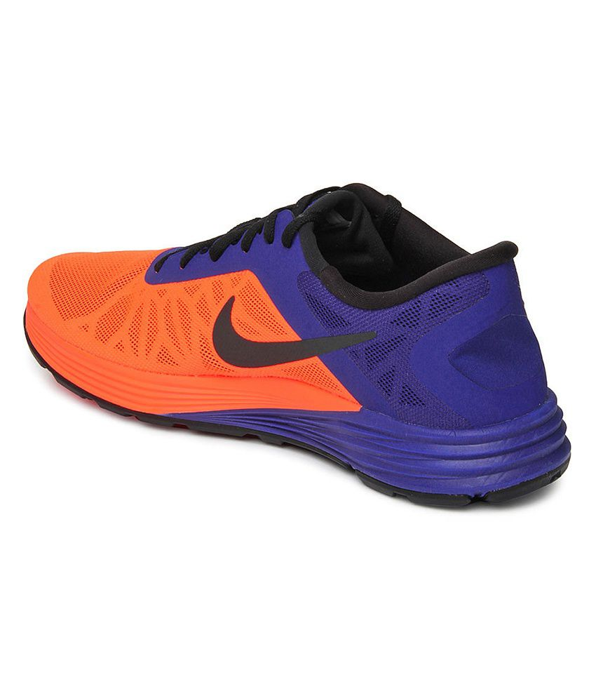 ... Nike Lunarlaunch Orange Sport Shoes ...
