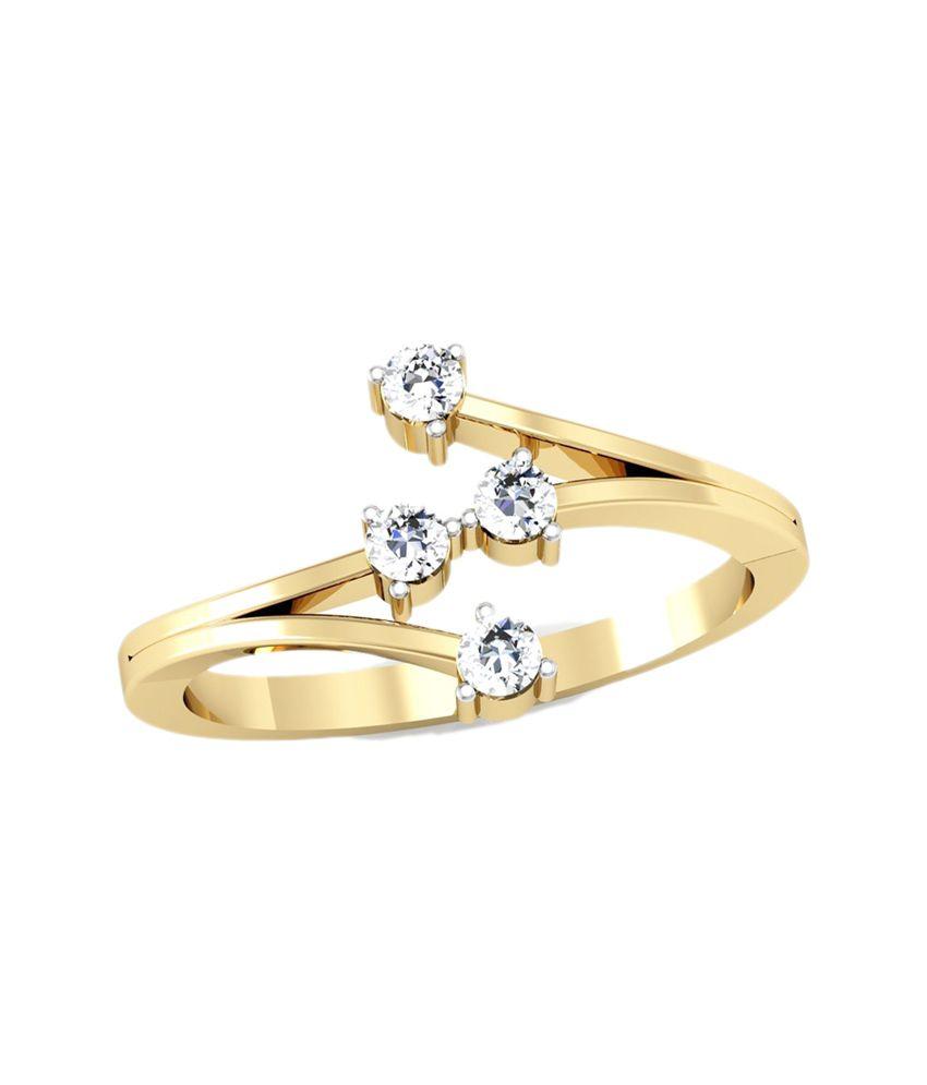 Vachya Traditional 14kt Golden Ring
