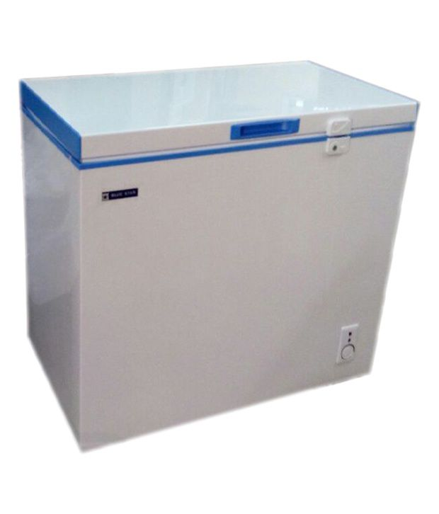 Blue Star 150 Ltr Chest Freezer CHF 150C - White and Blue