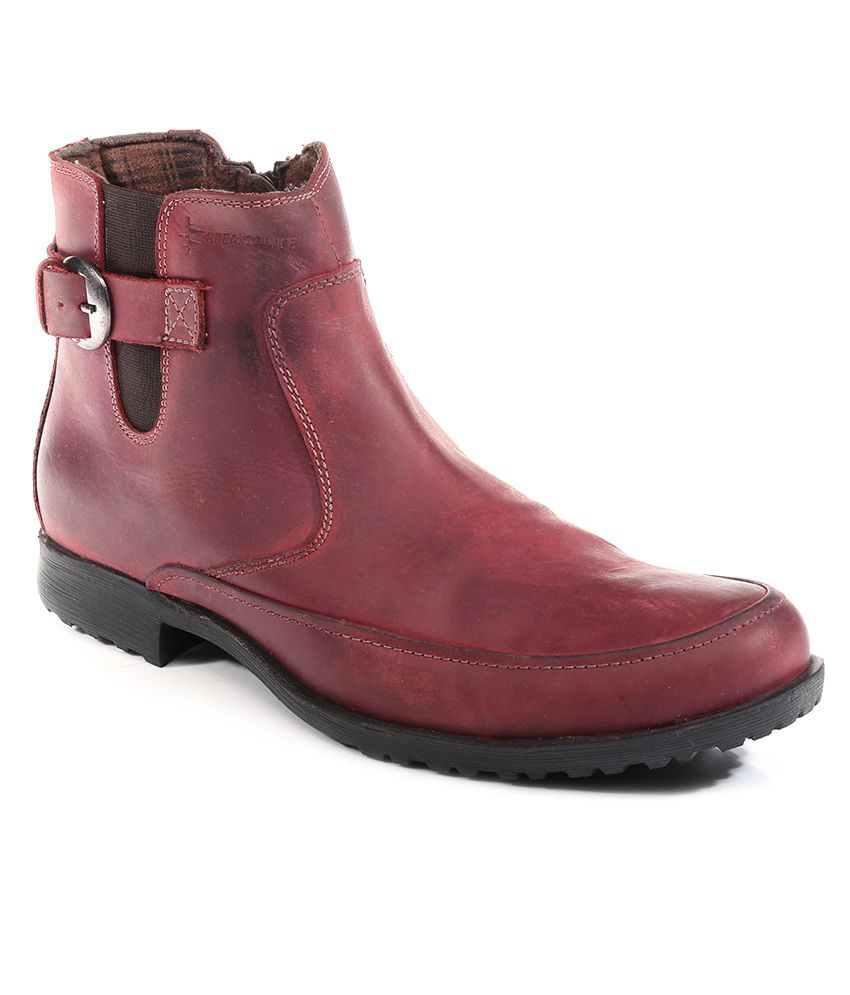Breakbounce Red Boots