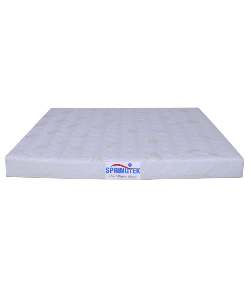 springtek 6 inches coir latex memory ortho mattress buy springtek