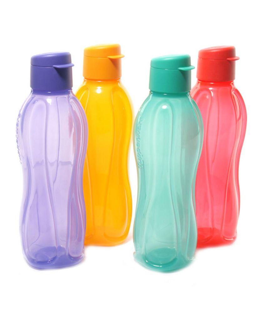 buy tupperware aqua safe fliptop bottel 750ml set of 2 on snapdeal