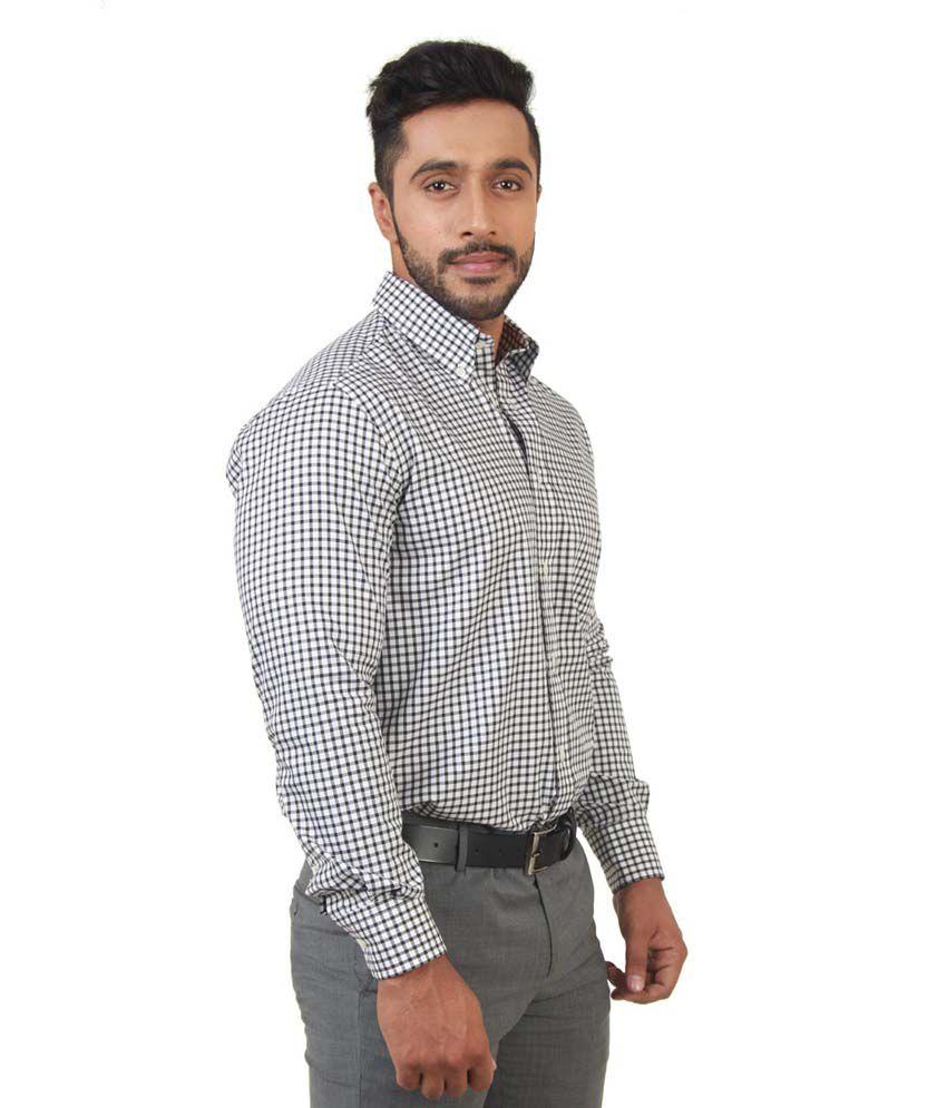 31ae5dda53c Zodiac Black 100 Percent Cotton Full Sleeves Formal Shirt For Men - Buy  Zodiac Black 100 Percent Cotton Full Sleeves Formal Shirt For Men Online at  Best ...
