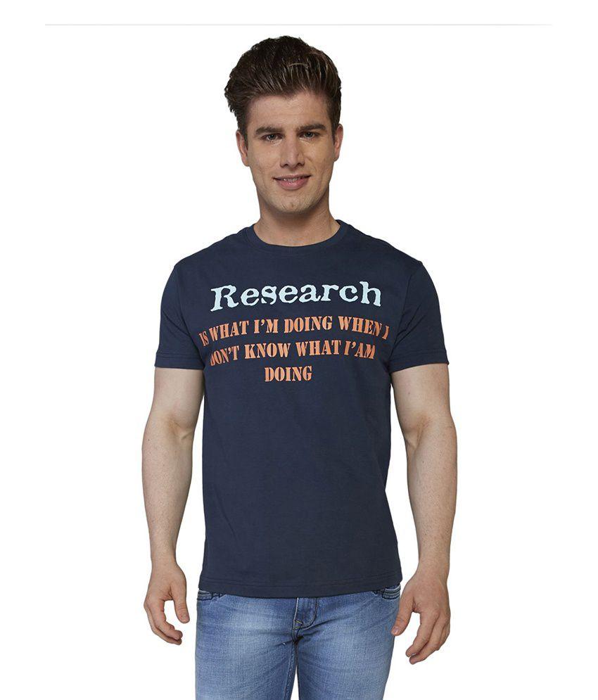 Globus Men's Casual One Liner T-shirt