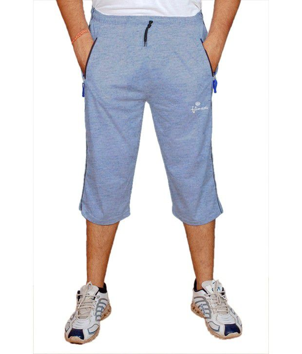 Filmax Grey Cotton Blend 3/4 Lower