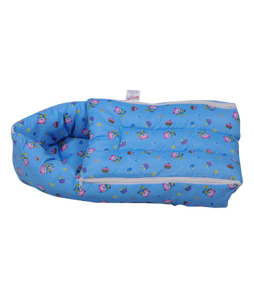 Jack & Jill Baby Bedding set Baby Carrier cum Sleeping Bag for New Born - Blue
