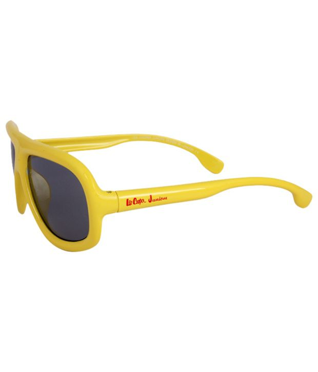 89333ed9ac Buy Lee Cooper Junior Stylish Yellow Sunglasses at Best Prices in India -  Snapdeal