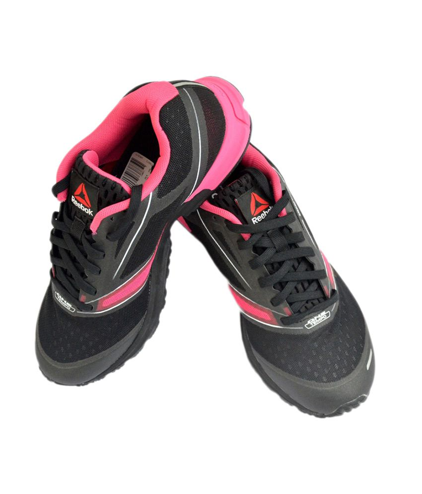caecdc83ad20 Reebok One Lite Black Running Women s Sports Shoes Price in India- Buy  Reebok One Lite Black Running Women s Sports Shoes Online at Snapdeal