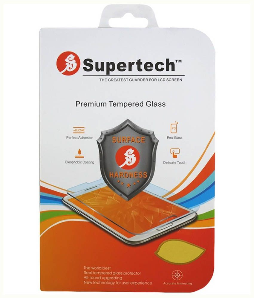 Supertech Shatterproof Tempered Screen guard for Samsung Galaxy Core 2