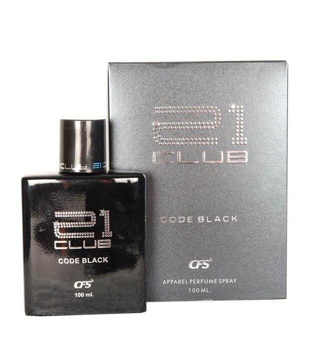 Cfs Exotic 21 Club Code Black Perfume