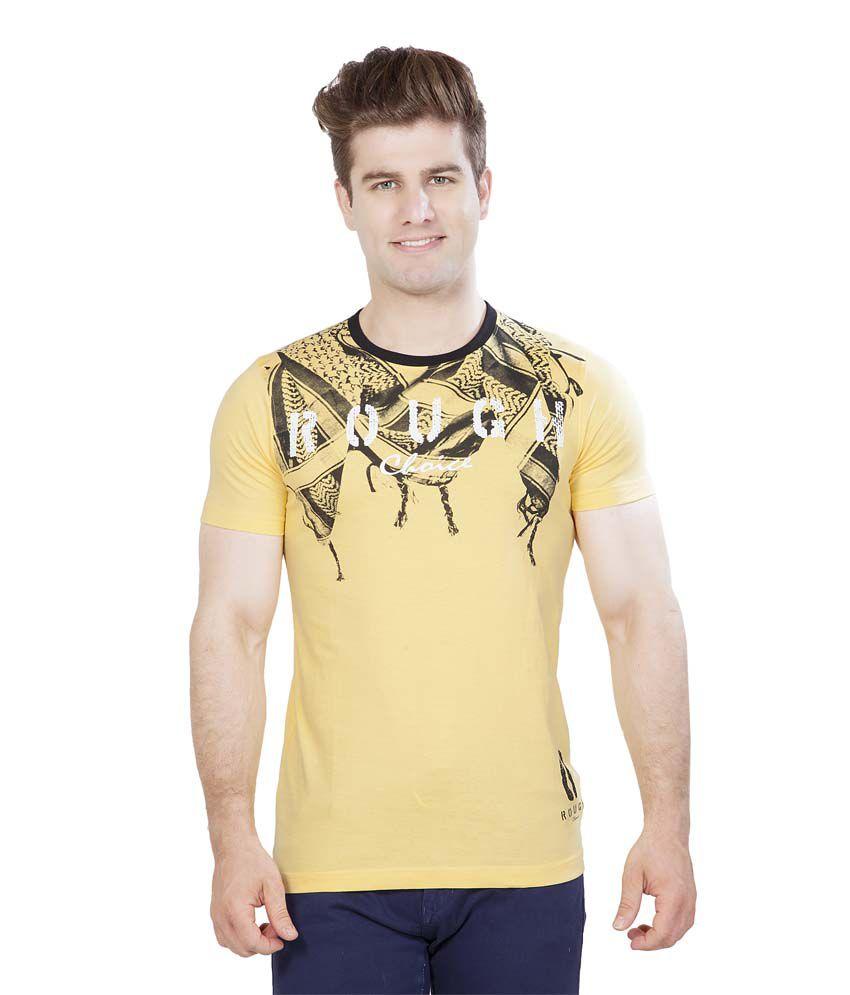 Maniac Yellow Rough scarf