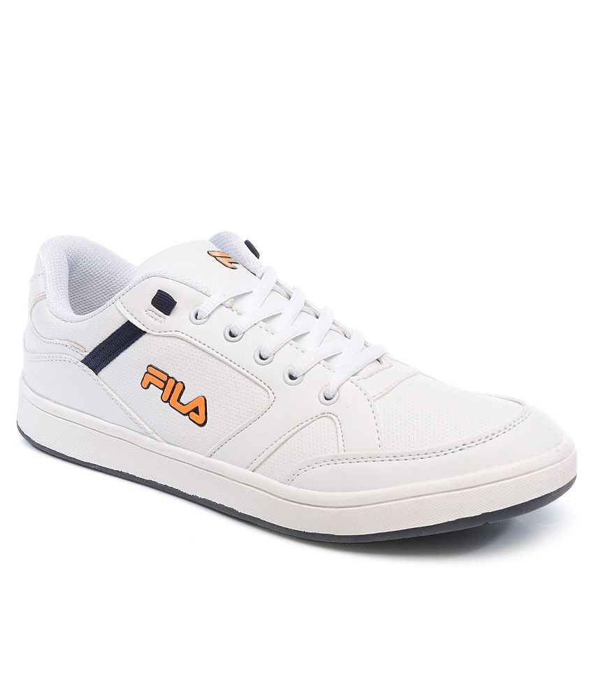 Fila White Sneaker Shoes - Buy Fila White Sneaker Shoes Online at Best  Prices in India on Snapdeal 38119bc901a