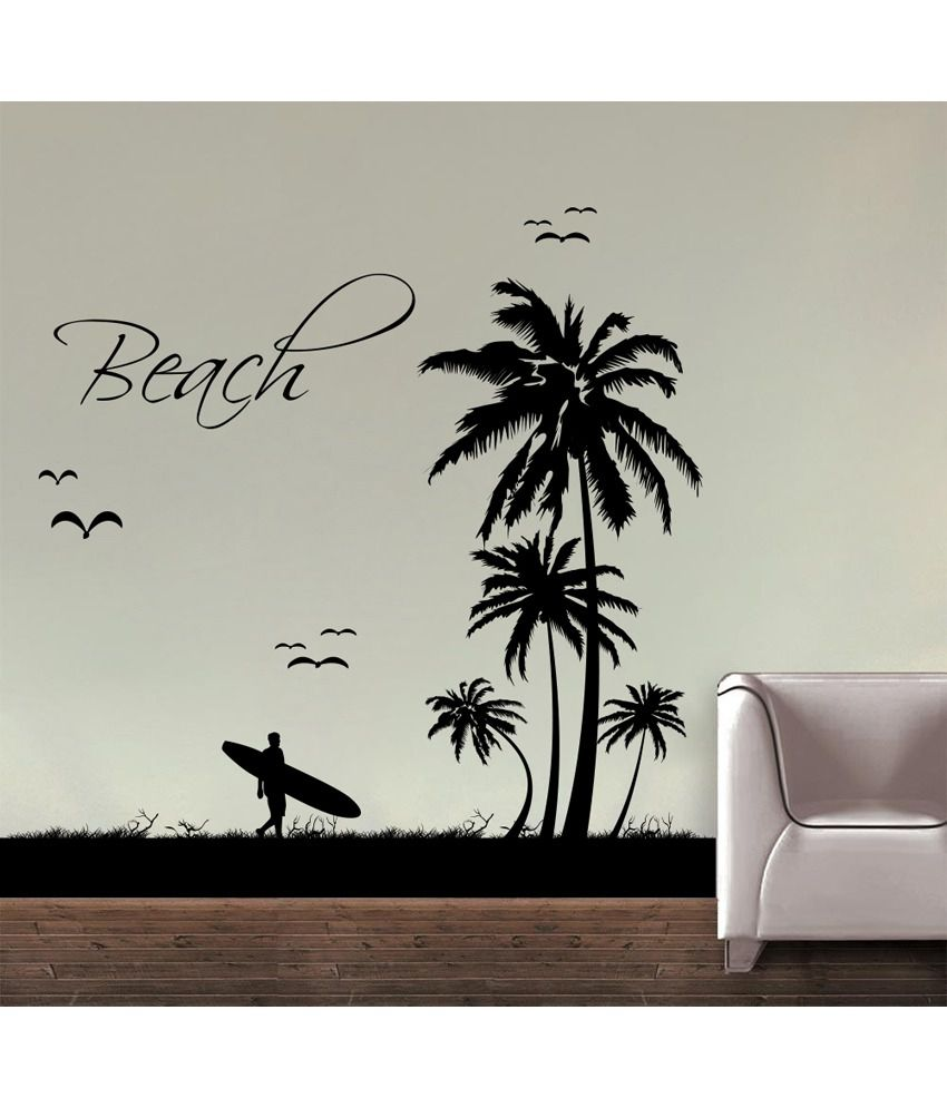 Beach Wall Decals Decor Kafe Decal Style Beach Wall Sticker Buy Decor Kafe