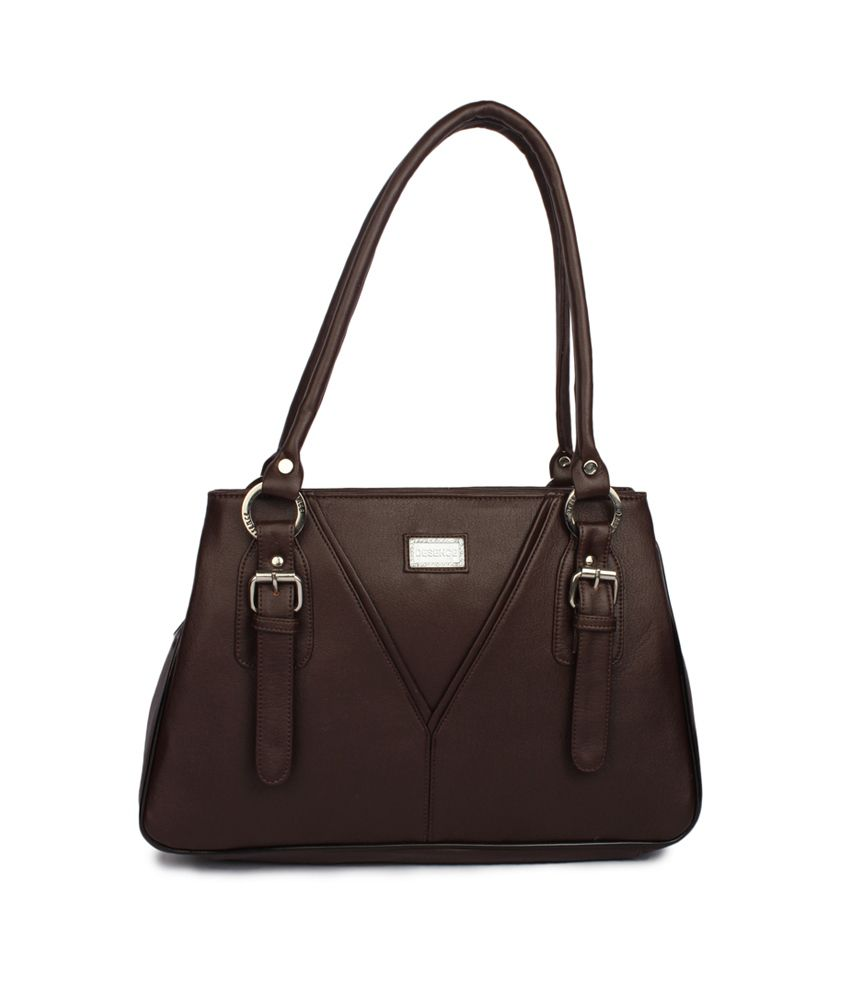 Spicegirls Brown P.U. Designer Handbag