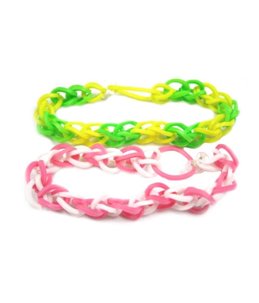 Ankush Multicolour Daily Wear Adjustable Bracelet