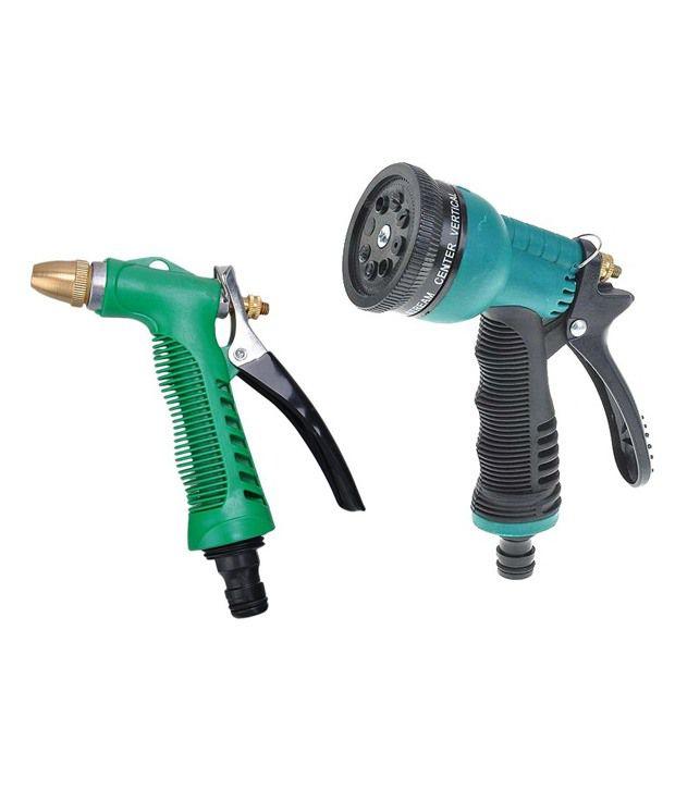 Dolphy Multifunction Car Wash Water Gun Spray Gun (Set Of 2)