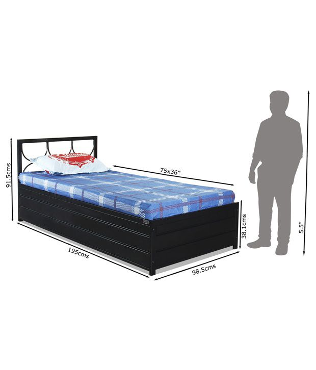 Model Of FurnitureKraft Lifton Single Bed with Hydraulic Storage Beautiful - Best of sleep number single bed Review