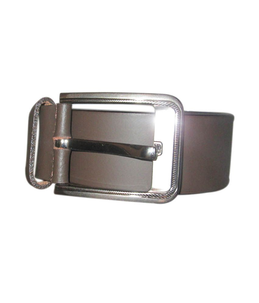 High Heels Brown Non Leather Casual Belt