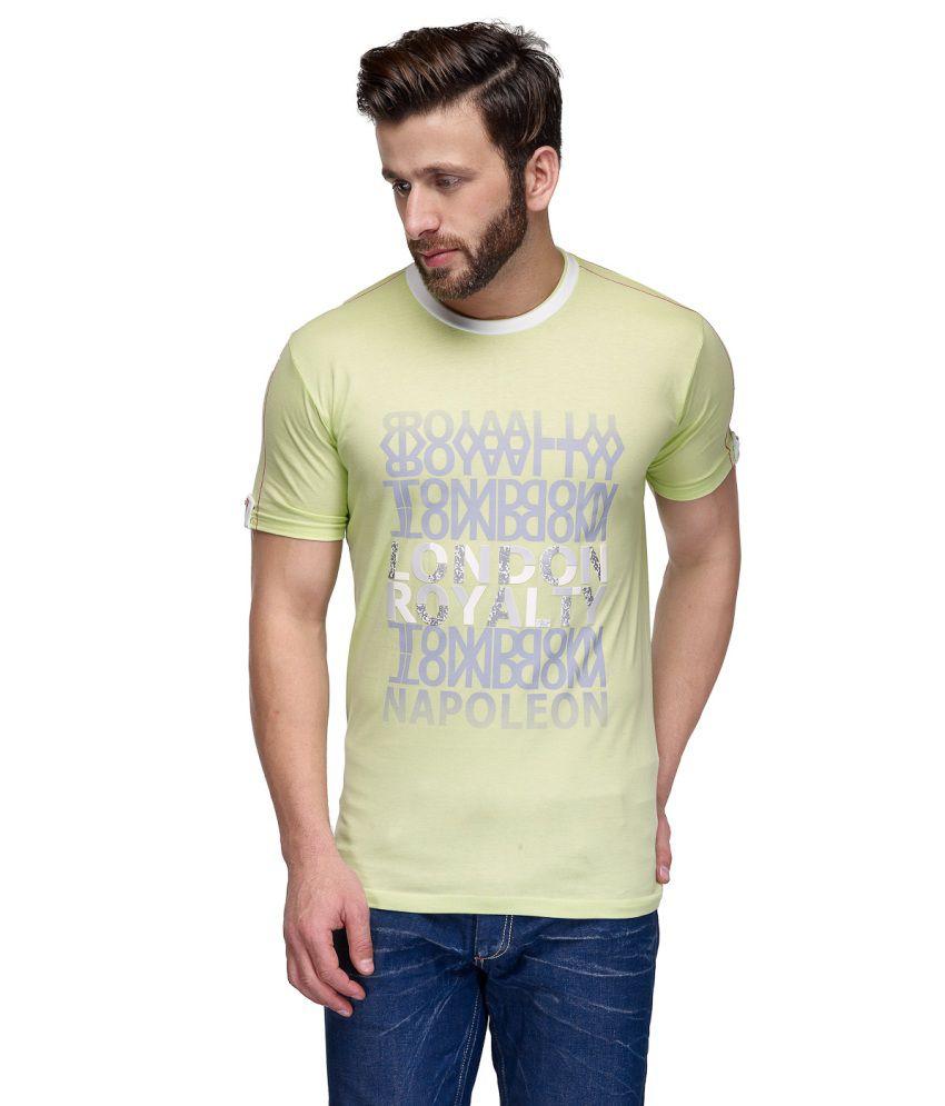 CnM Green Cotton T Shirt