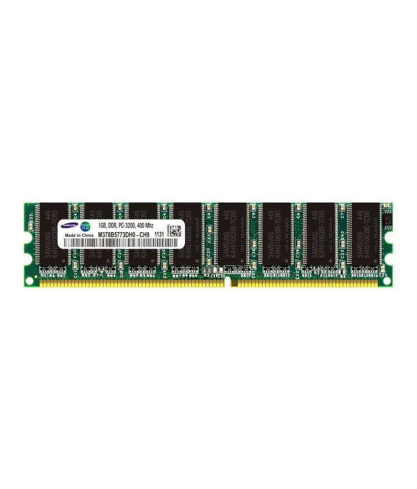 Samsung Desktop DDR SDRAM 1 GB 400 MHZ