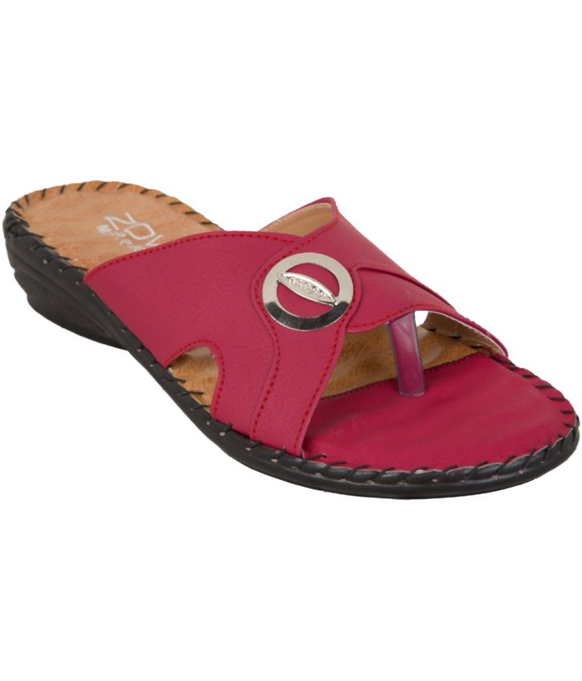 Zovi Sophisticated Pink Flats