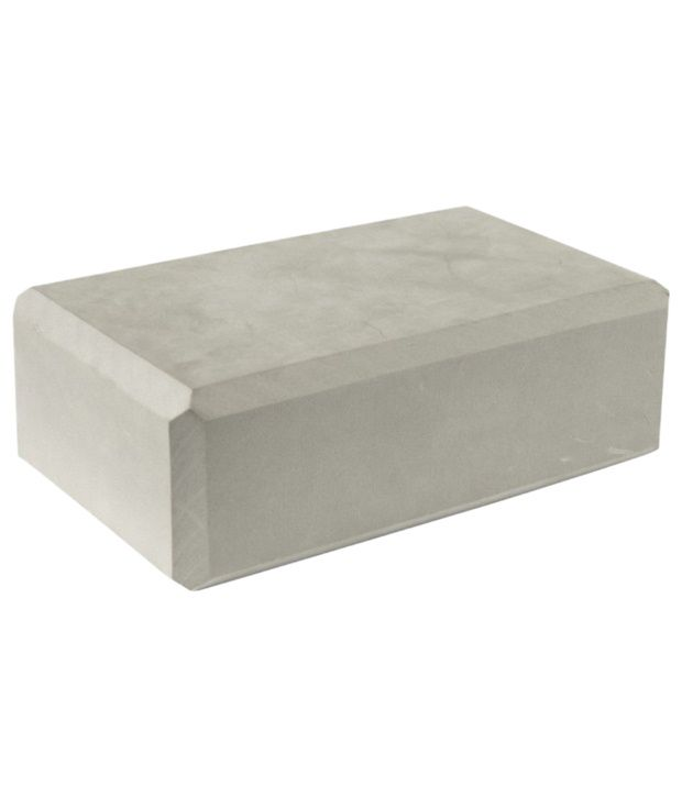 Domyos Gray Foam Yoga Brick