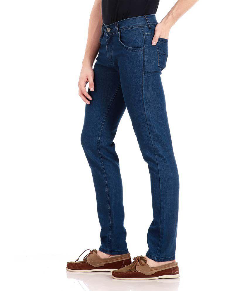 9b40d7b6849 Flyjohn Men s Light Blue Denim Jeans Flyjohn Men s Light Blue Denim Jeans  ...