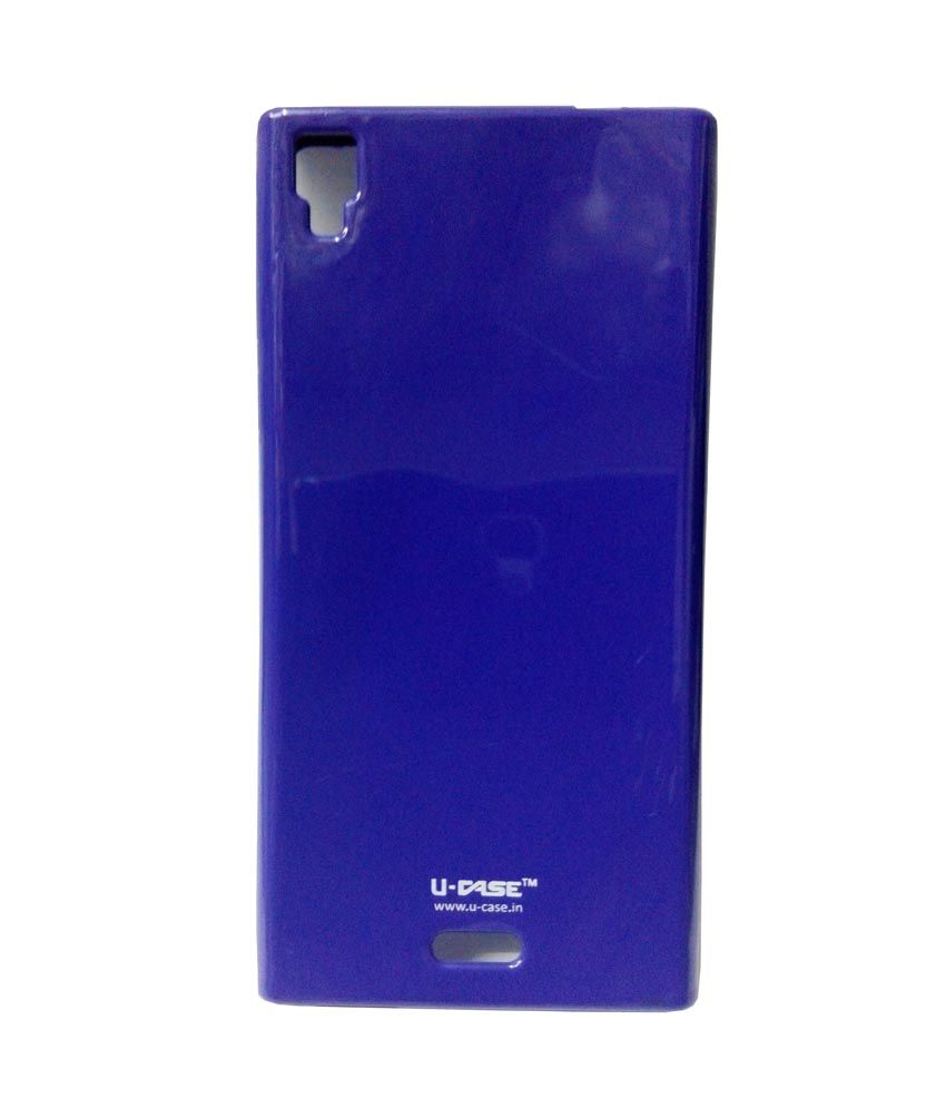 buy online a2bc9 7e4b0 Kelpuj Silicon Back Cover For Xolo Q600s - Plain Back Covers Online ...