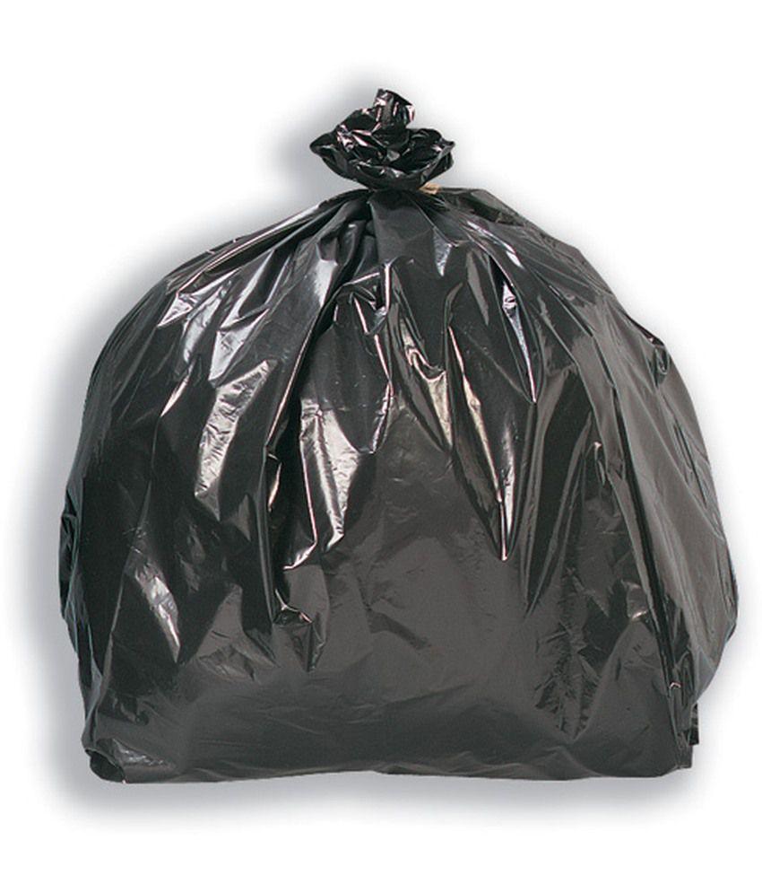 Small Garbage Bags : Arjun black small garbage bag pack of buy online at