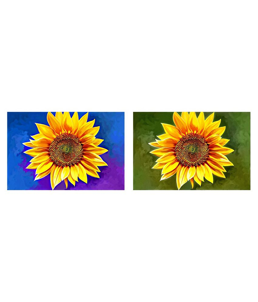Art Factory Matte Floral Painting without Frame