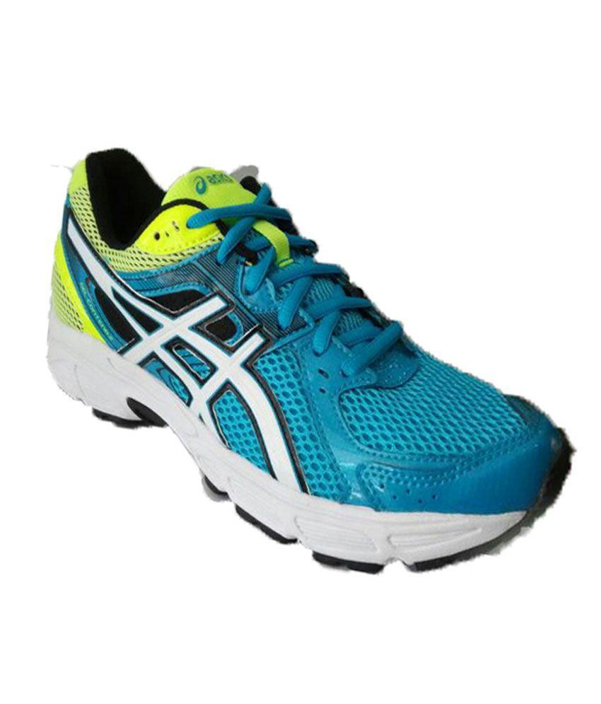 asics blue meshtextile sport shoes price in india buy