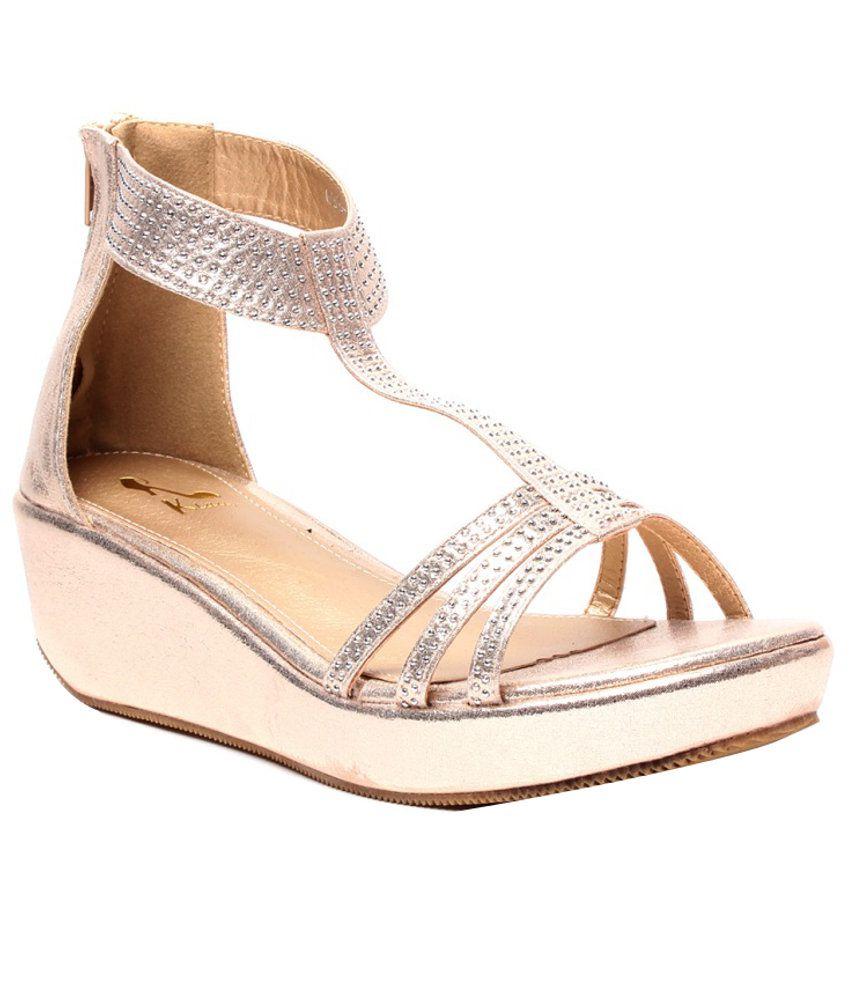 Klaur Melbourne Fine Gold Heeled Sandals
