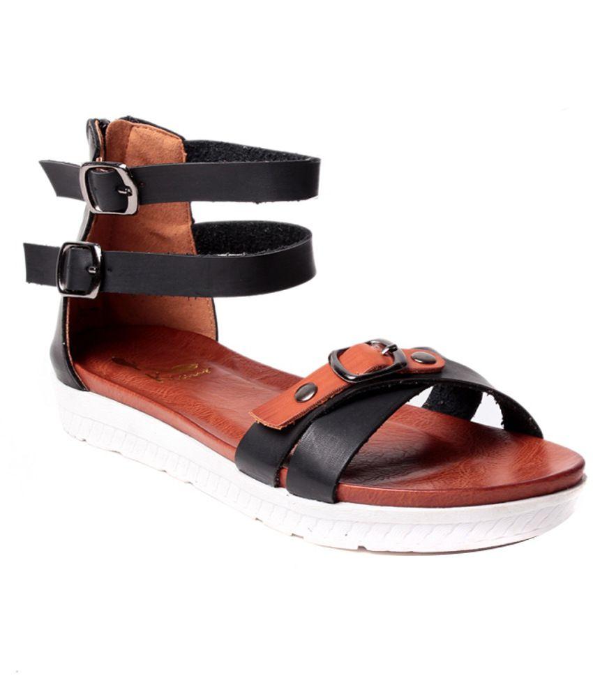 Black sandals melbourne - Klaur Melbourne Outstanding Black Sandals