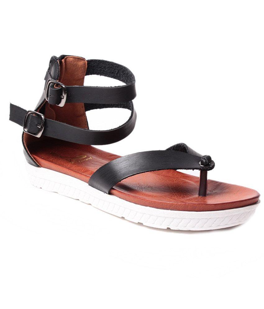 Black sandals melbourne - Klaur Melbourne Wonderful Black Sandals