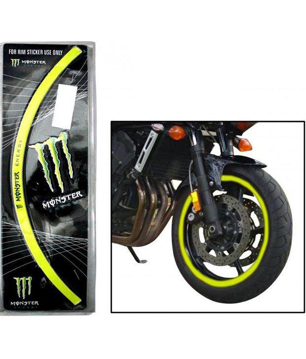 Spedy Lime Reflecting Bike Rim Sticker For Hero Ignitor Buy Spedy
