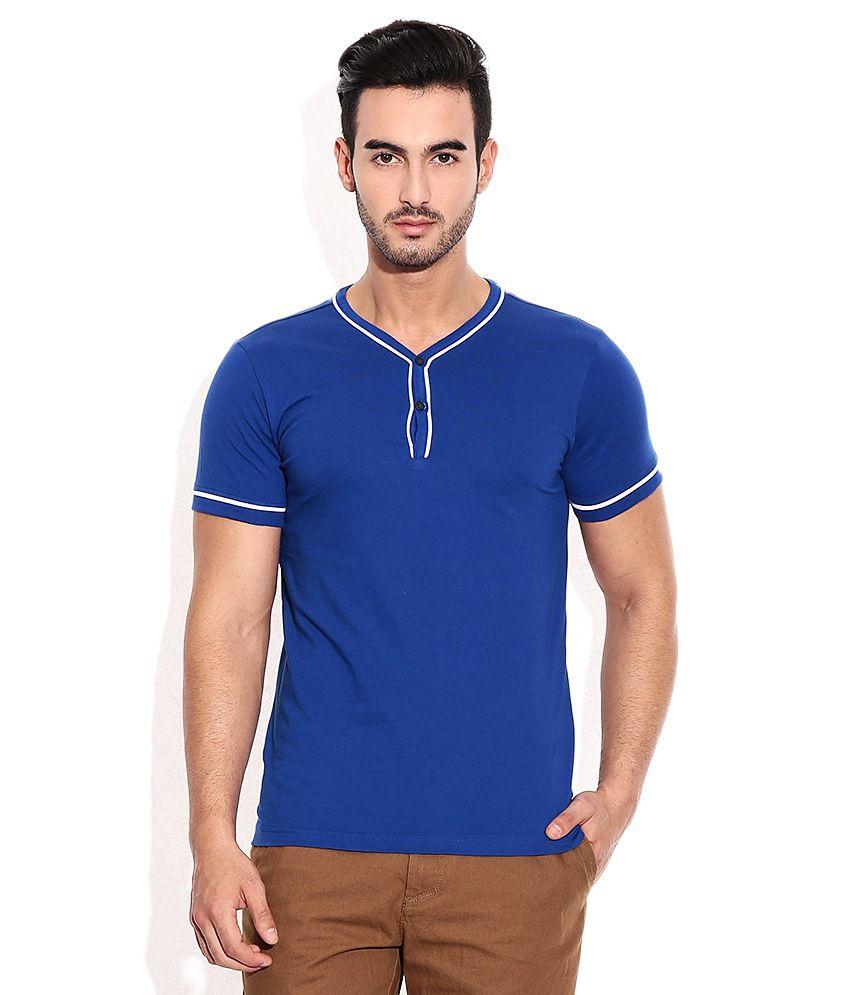 Ruggers Young Blue Henley T-Shirt
