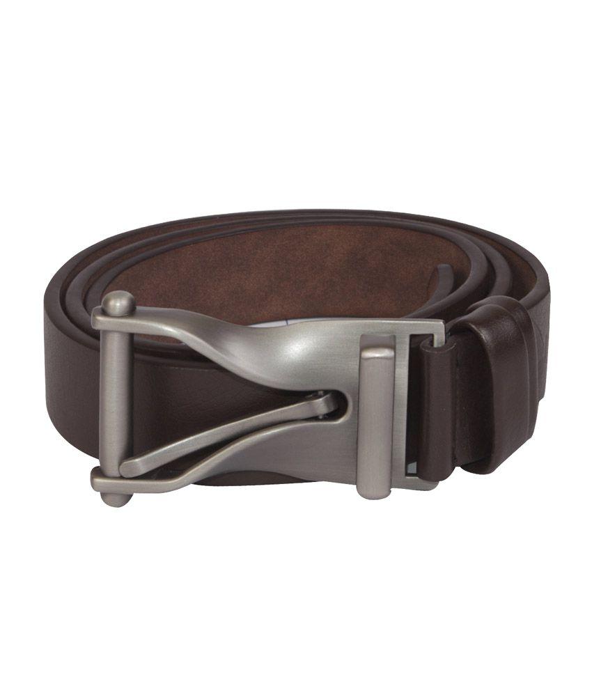 La Decor Brown Stylish Pin Buckle Belt
