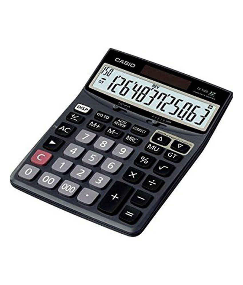 bansal sales casio dj 120d business calculator buy online at bestbansal sales casio dj 120d business calculator buy online at best price in india snapdeal