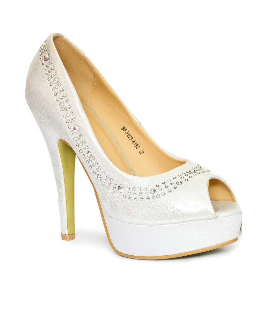 Rialto Silver High Heel(RO-213)