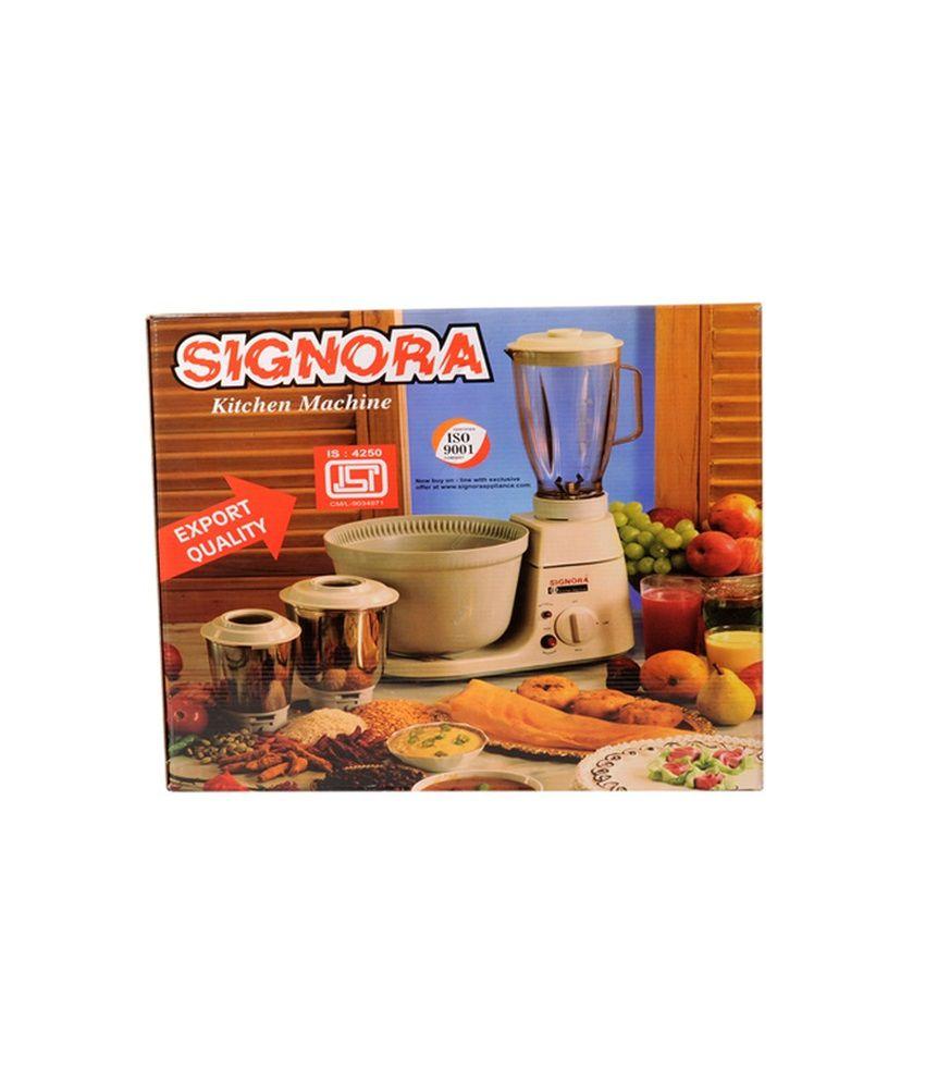 Signora Supreme Mixer Grinder Price In India Buy Power Juicer