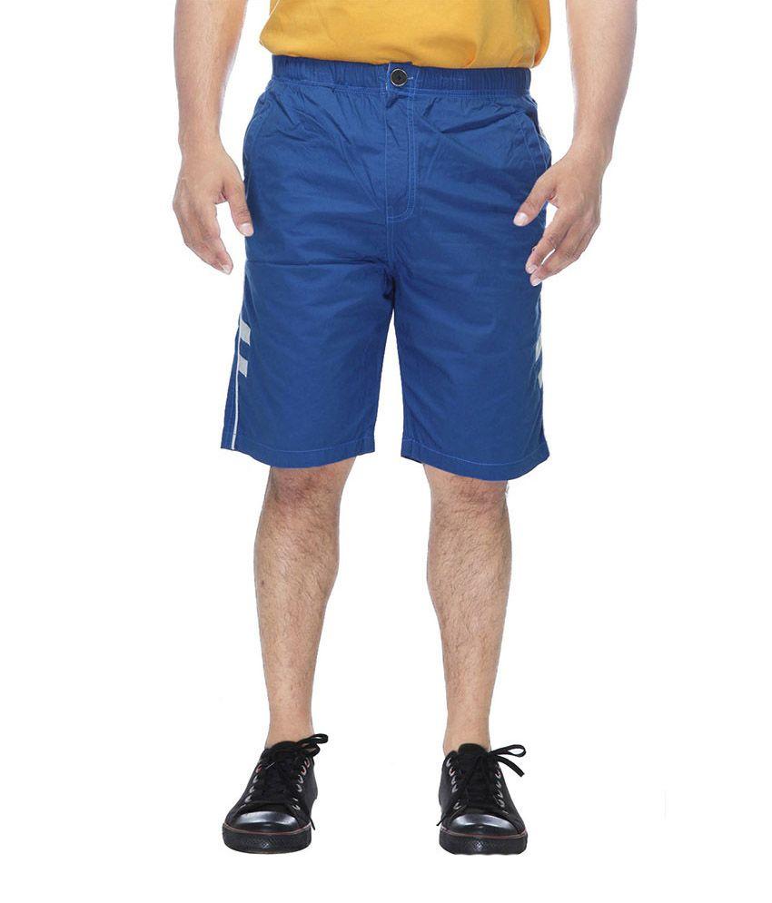 Clickroo Solids Cotton Shorts