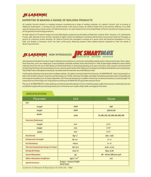 JK SmartBlox - AAC blocks
