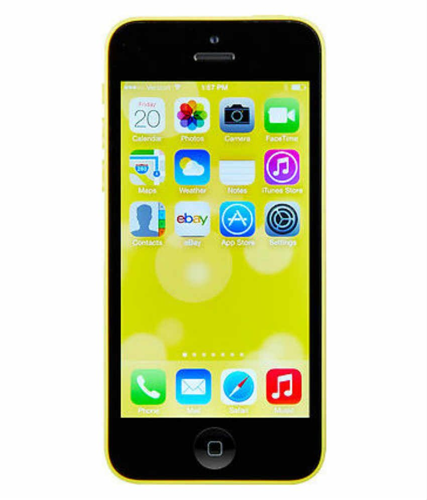 iphone 5c prices apple iphone 5c 16 gb mobile phone yellow 6180