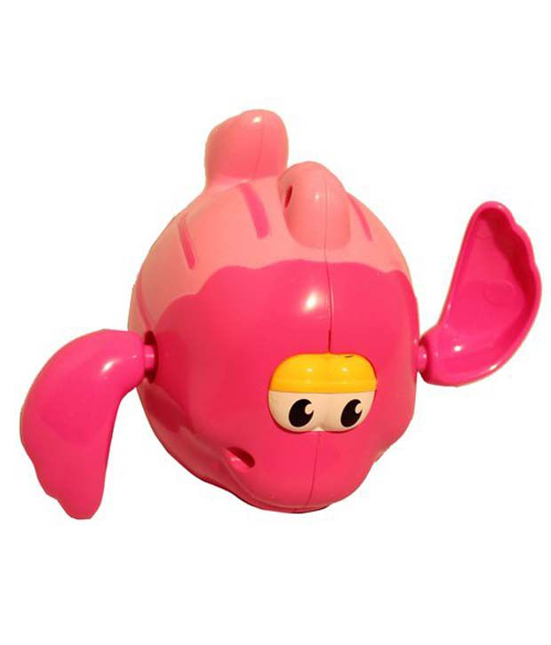 Grabby Pink Swimming Fish Toy