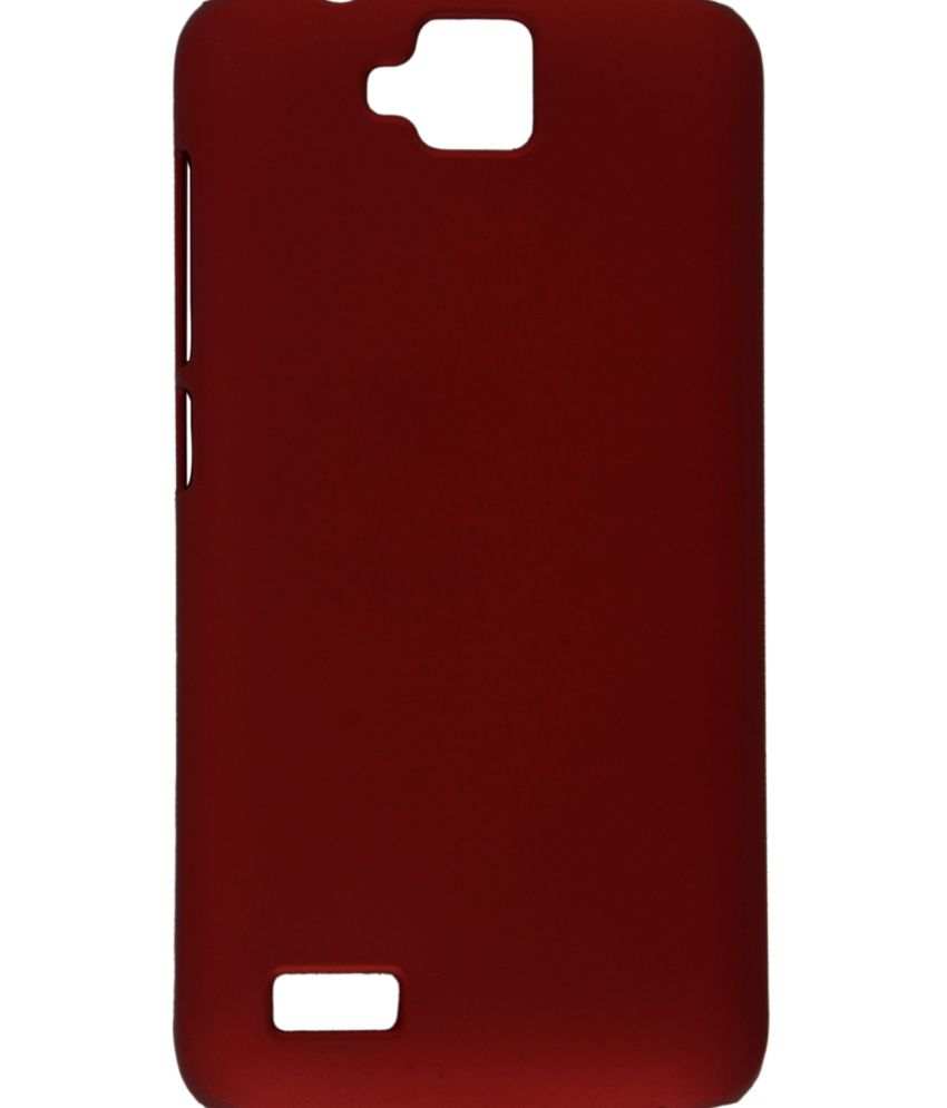 sale retailer 17a71 98826 Kartik Red Back Cover Cases For Huawei Honor Holly U19