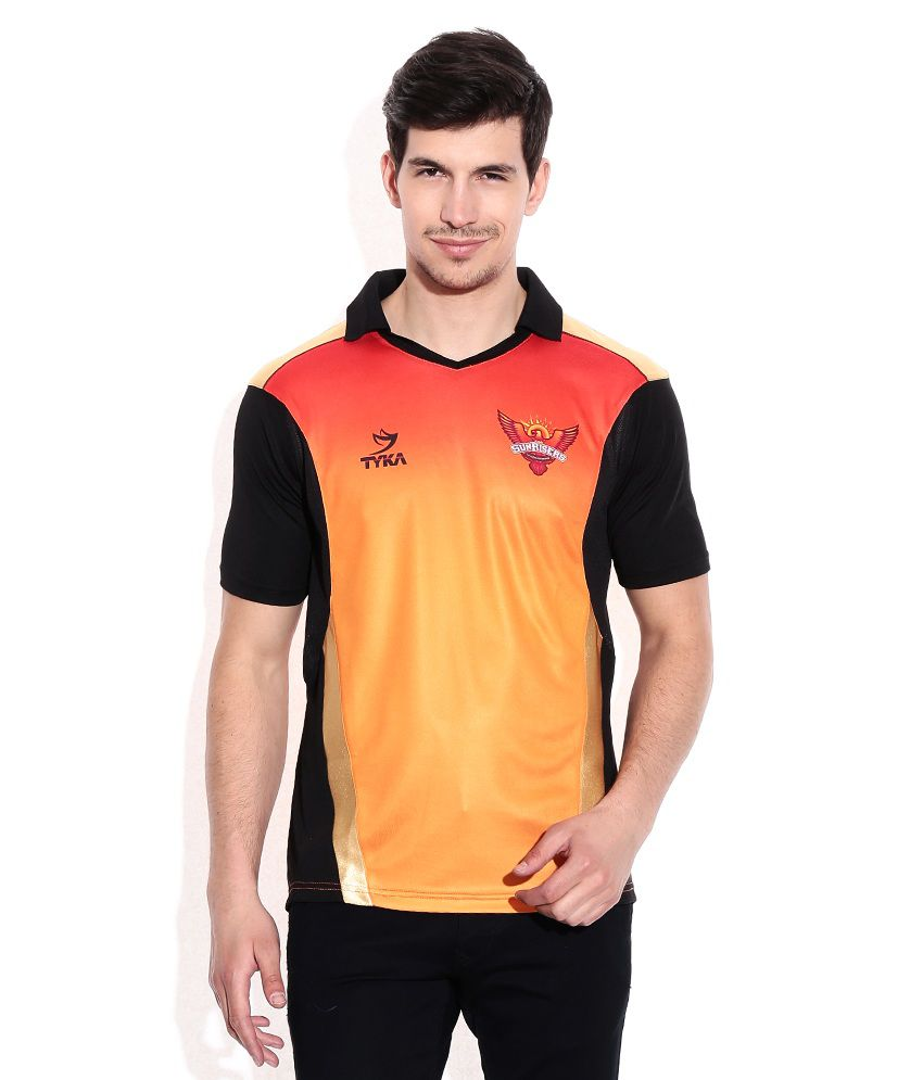 IPL T20 Sunrisers Hyderabad Official Jersey (Knocked Down Version)